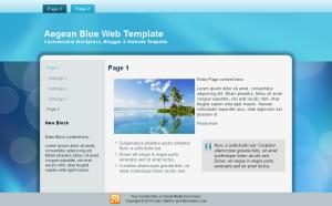 Aegean Blue Theme