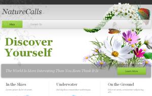 Nature Calls - White Theme