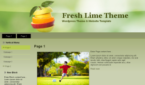 Fresh Lime Theme