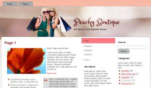 Peachy Boutique Theme