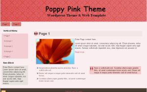 Poppy Pink Theme
