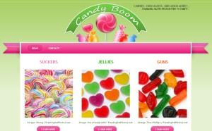 Candy Boom Theme