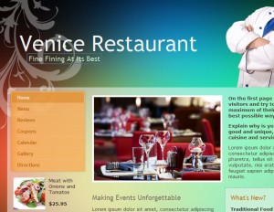 Venice Restaurant Theme